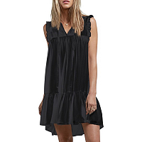 Volcom SEA Y'AROUND DRESS BLACK