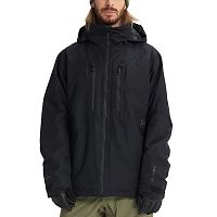 Burton M AK GORE SWASH JK TRUE BLACK