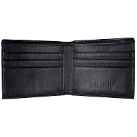 RIPNDIP MBN LEATHER WALLET BLACK