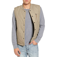 RVCA TOY MACHINE VEST Dark Khaki