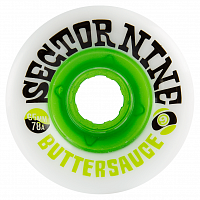 Sector9 BUTTER SAUCE SLIDE WHEEL White