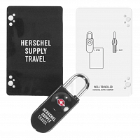Herschel TSA CARD LOCK BLACK