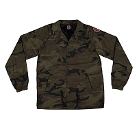 Independent BTGC PATCH COACH WINDBREAKER L/S JACKET CAMO