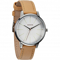 Nixon Kensington Leather NATURAL/SILVER