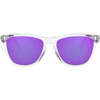 Oakley FROGSKINS MIX POLISHED CLEAR/Grey (GYO)/VIOLET IRIDIUM POLARIZED