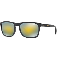 Arnette BURNSIDE MATTE BLACK/MIRROR GREEN GOLD