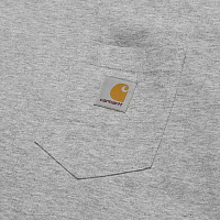 CARHARTT S/S POCKET T-SHIRT GREY HEATHER
