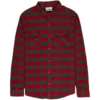 Billabong ALL DAY FLANNEL LS S BLOOD