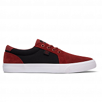 DC COUNCIL SD M SHOE BURGUNDY/TAN