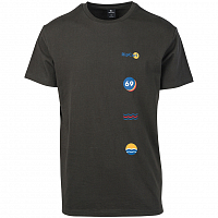 Rip Curl RAINBOW SIGN SS TEE ANTHRACITE