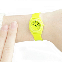 Nixon Small Time Teller P LIME