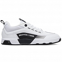 DC LEGACY 98 SLIM J SHOE WHITE/BLACK