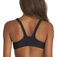 Billabong TANLINES CROP TOP TA BLACK PEBBLE