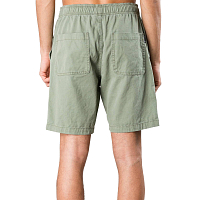 Rusty OFF THE HOOK ELASTIC SHORT ARMY