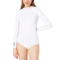 Hurley W ONE & ONLY RASHGUARD L/S White
