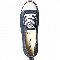 CONVERSE CHUCK TAYLOR ALL STAR BALLET LACE SLIP NAVY