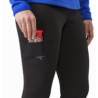 ARCTERYX RHO AR BOTTOM WOMEN'S BLACK