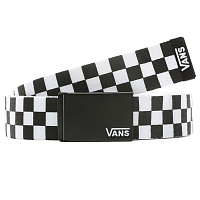 Vans LONG DEPSTER WEB BELT BLACK-WHITE CHECK
