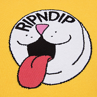 RIPNDIP PILL KNIT SWEATER YELLOW