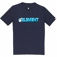 Element SNOW SS TEE BOY 2 ECLIPSE NAVY