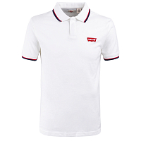 LEVI'S® SS MODERN HM POLO HM PATCH WHITE w/