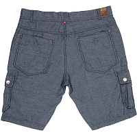 Mystic DISTANCE SHORT DENIM BLUE