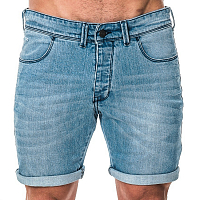 Mystic TYPHOON SHORT Washed Blue Denim