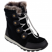 SOREL CHILDRENS WHITNEY SUEDE Black, Dark Sto