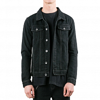 Rusty GOTHIC R DENIM JACKET Vintage Black