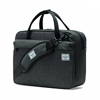 Herschel GIBSON Black Crosshatch