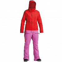 Airblaster W'S INSULATED FREEDOM SUIT BUBBLEGUM PARTY