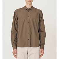YMC Triple Curtis Organic Cotton Shirt Olive