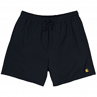 Carhartt WIP Chase Swim Trunks BLACK / GOLD