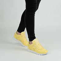Reebok CL LTHR FILTERED YELLOW/WHIT