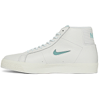 Nike SB ZOOM BLAZER MID PRM WHITE/GLACIER ICE-WHITE-SUMMIT WHITE