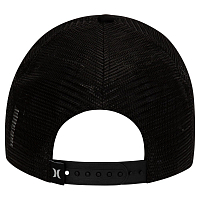 Hurley M O&O SQUARE TRUCKER HAT BLACK