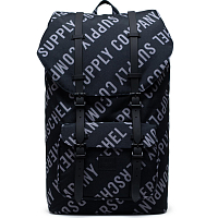 Herschel Little America ROLL CALL BLACK/SHARKSKIN