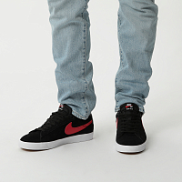 Nike SB ZOOM BLAZER LOW GT BLACK/UNIVERSITY RED-BLACK-WHITE