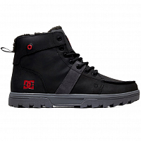 DC WOODLAND M BOOT BLACK/BATTLESHIP/ATHLETIC RED