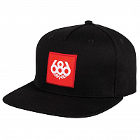 686 KNOCKOUT SNAPBACK HAT BLACK