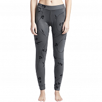 Billabong WARM UP LEGGINGS BLACK FLOWER