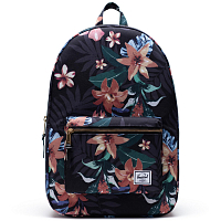 Herschel Settlement SUMMER FLORAL BLACK