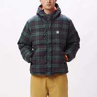OBEY FELLOWSHIP PUFFER JACKET NAVY MULTI