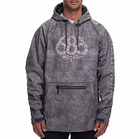 686 WATERPROOF HOODY CHARCOAL WASH DKLEIN