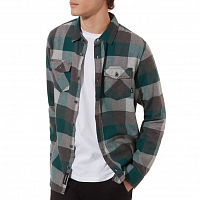 Vans BOX FLANNEL VANS TREKKING GREEN-GREY HEATHER