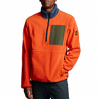 Element WINDRIFT QTR ZIP BURNT OCHRE