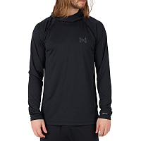 Burton AK POWER GRID HOOD TRUE BLACK