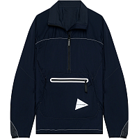 And Wander W Weave Windy Pullover NAVY