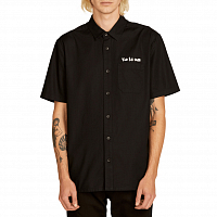 Volcom CROWD CONTROL S/S BLACK