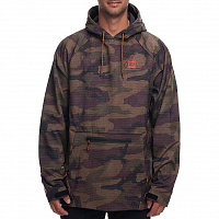 686 WATERPROOF HOODY DARK CAMO TRIANGLE